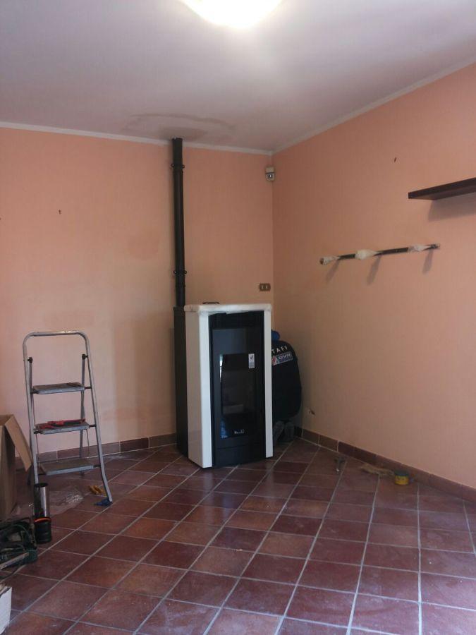 Progetto installazione stufa idro a pellet oriolo romano - Installazione stufe a pellet idro ...