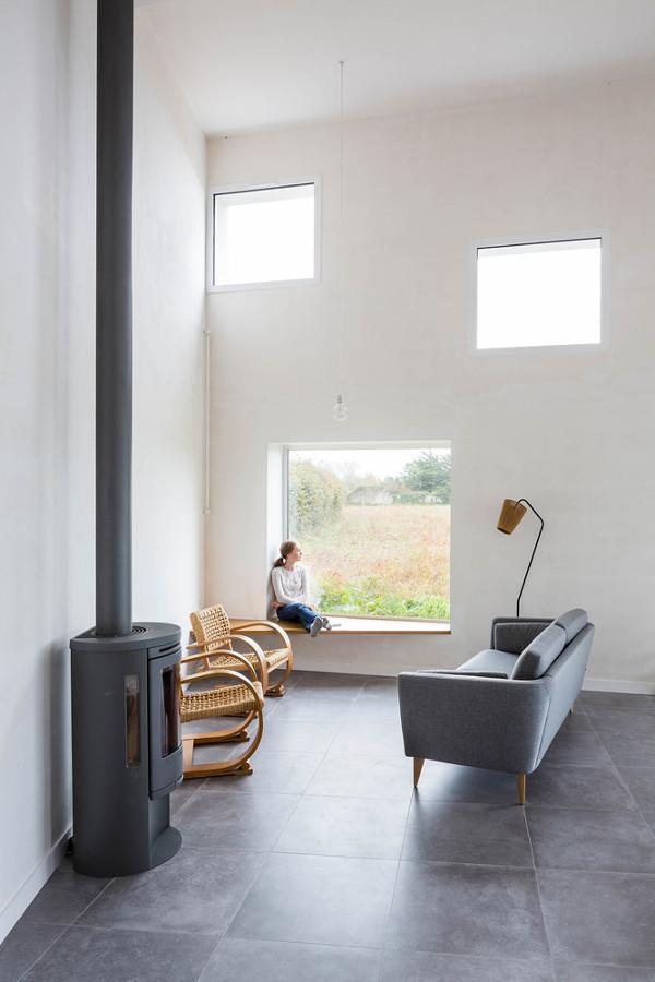 Una casa di campagna per ispirare un fotografo idee - Finestra con seduta ...