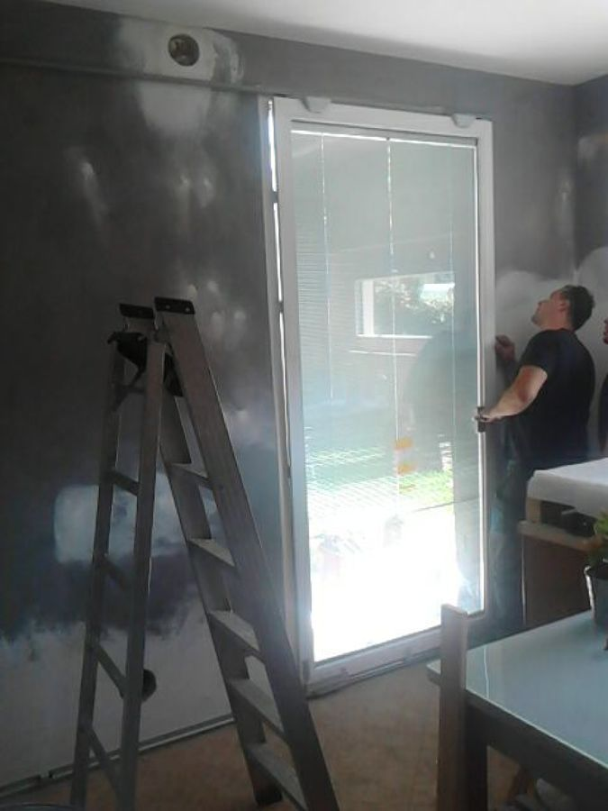 Finestre traslanti con veneziana interno vetro con telecomando per la movimentazione idee - Veneziana finestra ...