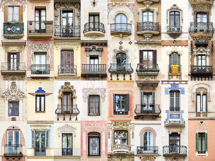 Finestre di Barcellona