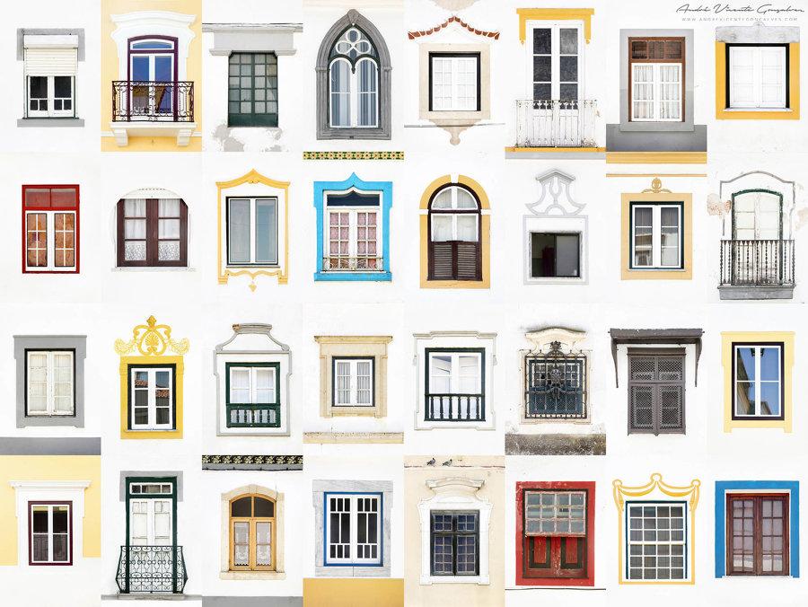 Finestre di Beja, Portogallo