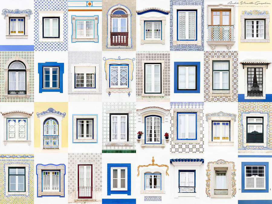 Finestre di Ericeira, Portogallo