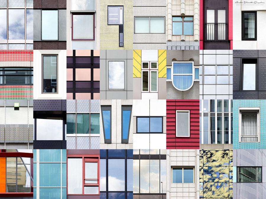 Finestre di Rotterdam, Paesi Bassi