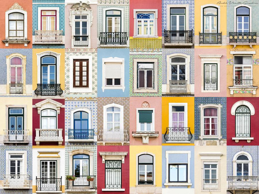 Finestre di Setubal, Portogallo