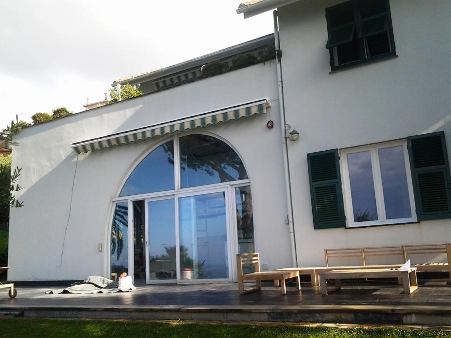 Foto finestre in pvc finstral persiane in alluminio metra di tigullio design genova 310310 - Finestre pvc genova ...