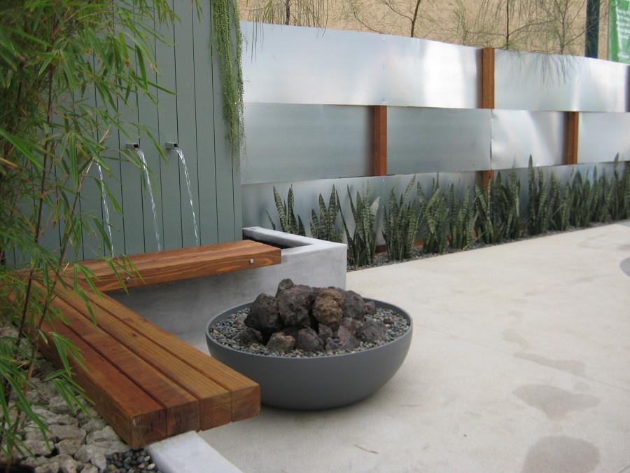 Extrêmement Foto: Fontana a Muro Per il Giardino di Valeria Del Treste #320440  SR47