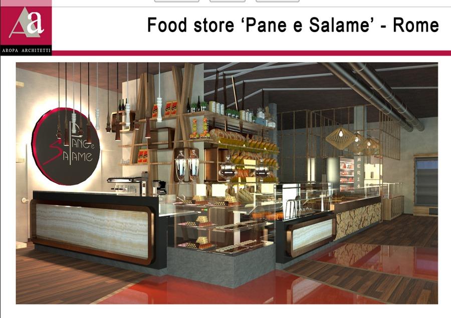 Food Store -Pane e Salame- Rome