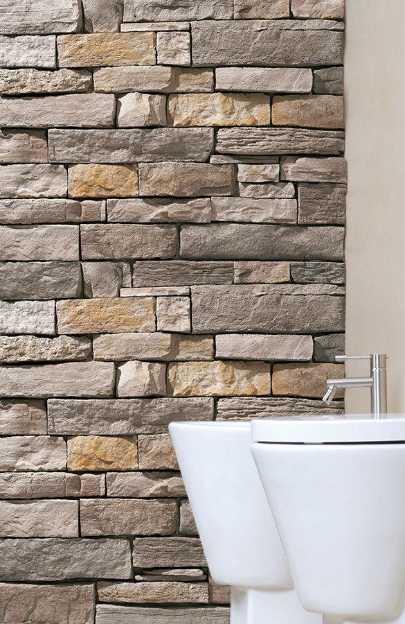 Fornitura e installazione di pietra ricostruita idee - Pietre da parete per interni ...