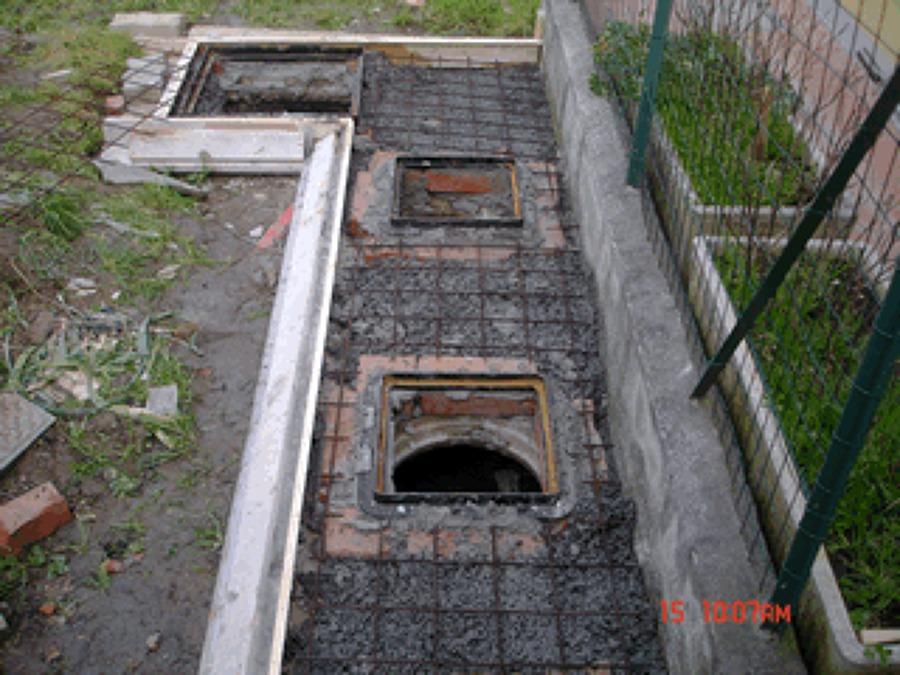 Progetto ristrutturazione fossa biologica idee fosse for Fosse settiche in cemento