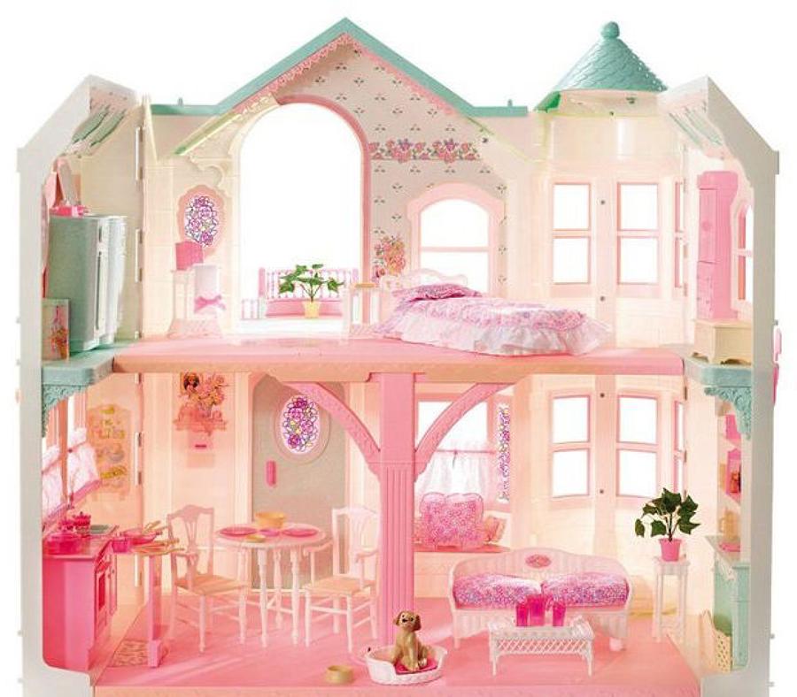 L 39 evoluzione delle case di barbie idee interior designer for Piani quadrati a chiocciola