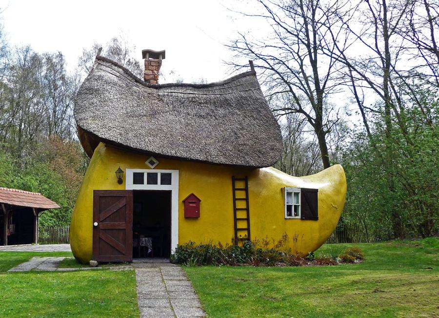 Le case pi stravaganti del mondo navicella spaziale for Case stravaganti