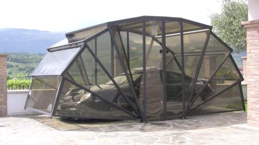 Garage pieghevole per auto e moto una soluzione - Garage mobile per auto ...