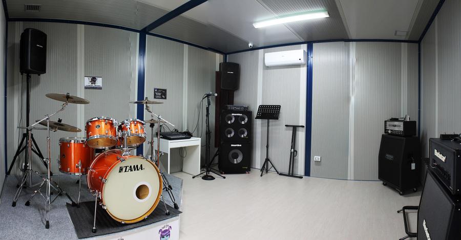 Piccola Sala Prove : Isolamento acustico: come costruire una sala prove insonorizzata
