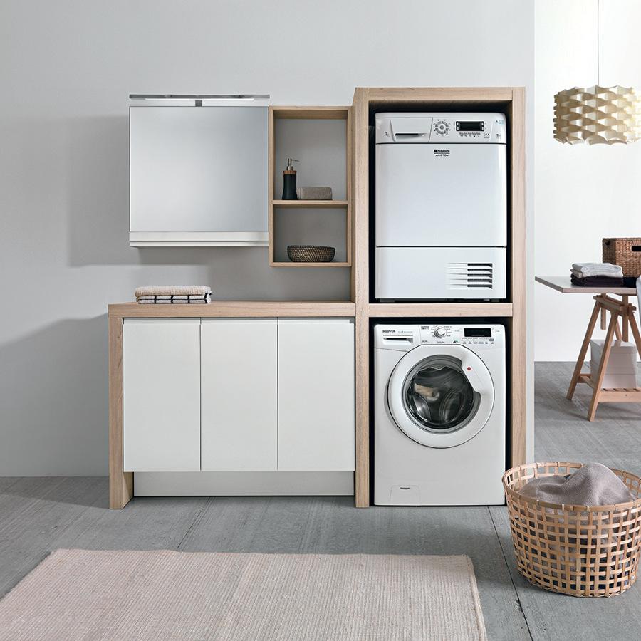 Come creare in casa una zona lavanderia chic e funzionale for Mobili lavanderia