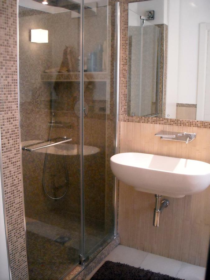 Progetto ristrutturazione casa trionfale camilluccia - Bagno padronale ...