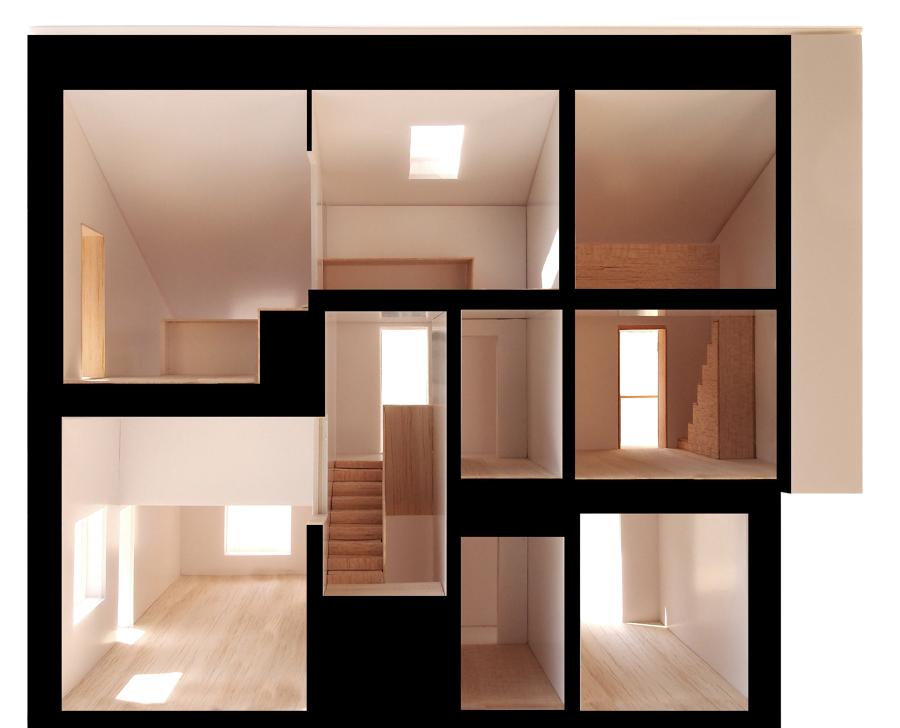 Foto foto del plastico di studio scala 1 25 sezione for Arredo famiglia terni