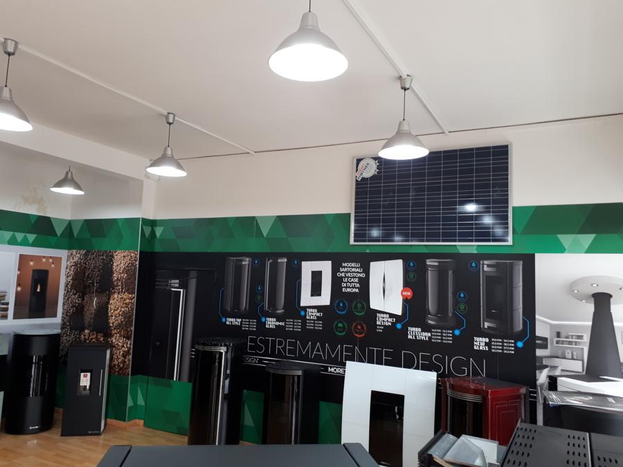 foto post operam - interno 1 showroom