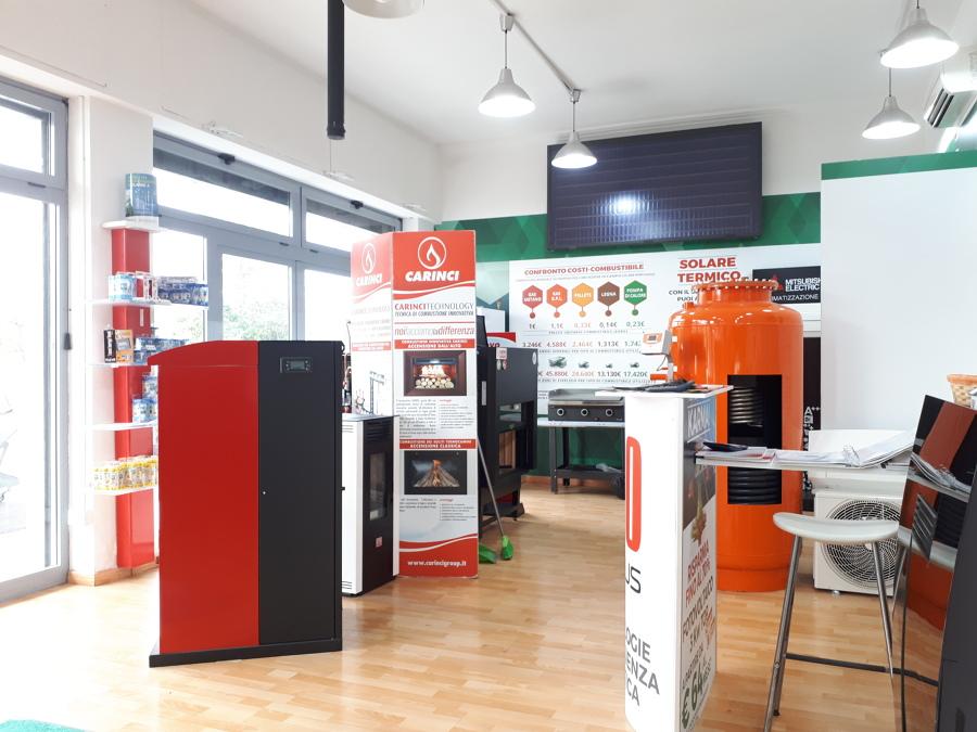 foto post operam - interno 2 showroom