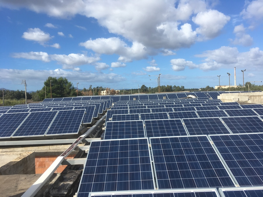 Fotovoltaico 100 kw san gavino
