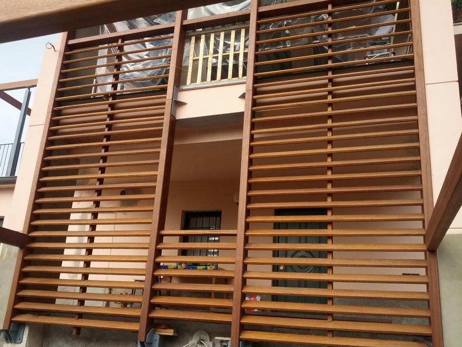 Progetto realizzazioni pavimenti e facciate in legno per for Tetti giapponesi
