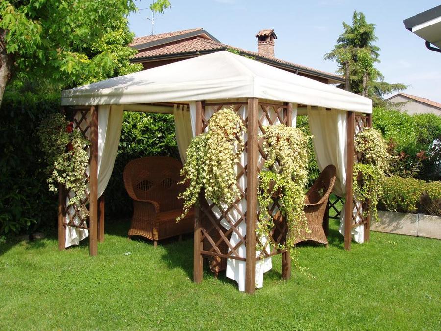 Gazebo anche in inverno idee tende da sole - Gazebo giardino ikea ...