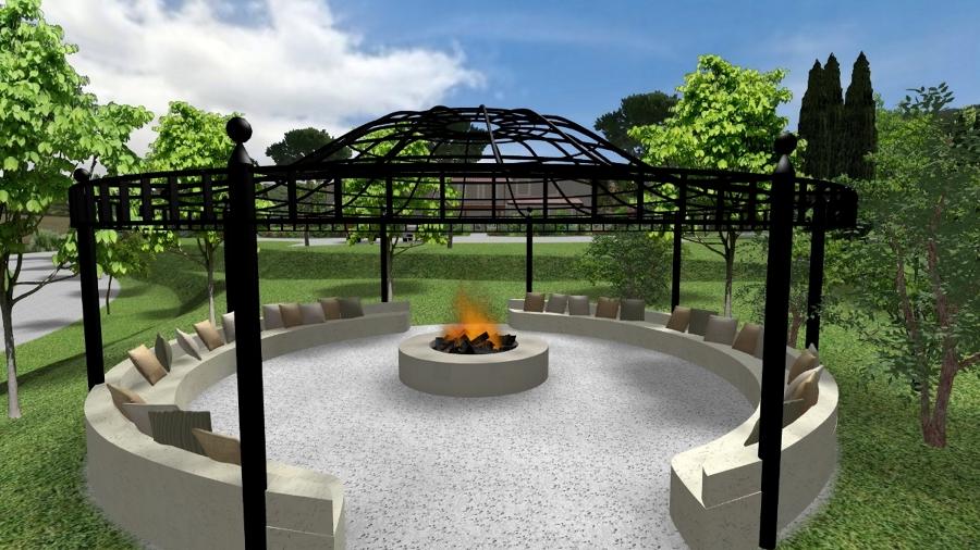 Foto gazebo in ferro di pellegrini giardini 123463 for Costruire un gazebo in ferro