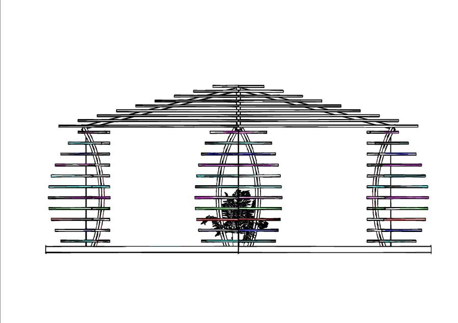 Progetto gazebo in legno idee tende da sole for Progetto gazebo in legno pdf