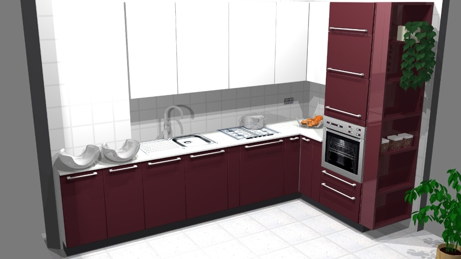 progetto arredamento cucina : Progetto Arredamento Cucina Emotion Gd-10-12 Idee Mobili
