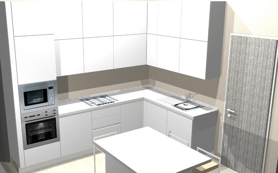 Progetto cucina emotion gd 11 13 idee mobili - Progetti cucine piccole ...