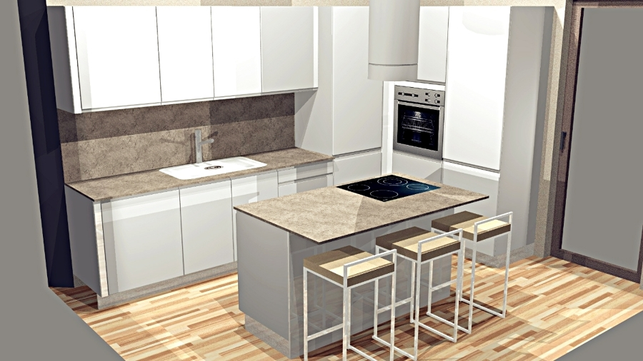 Progetto arredamento cucina emotion gd 21 12 idee mobili for Progetta mobili