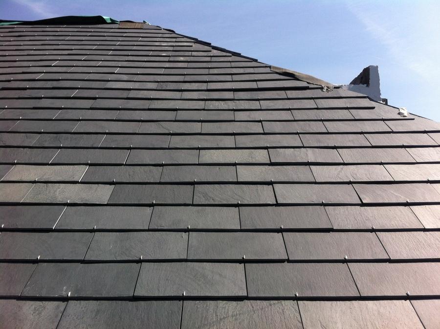 Foto genova copertura tetto in ardesia di balfin marbles - Copertura a tetto ...