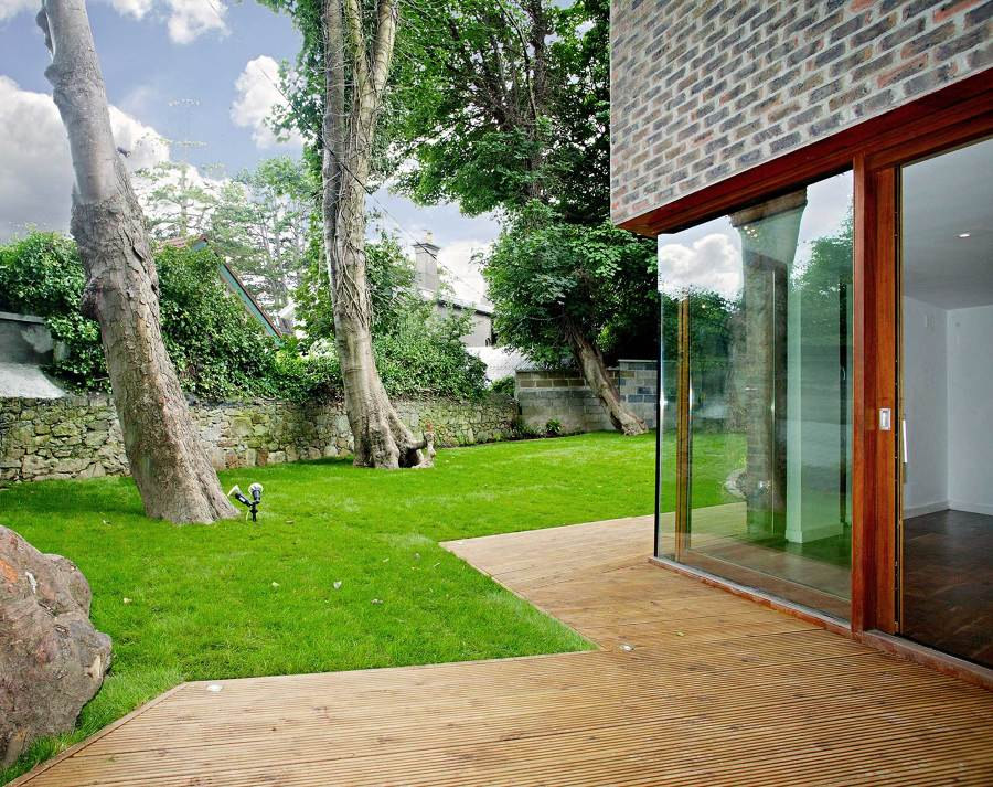 giardino casa esterna