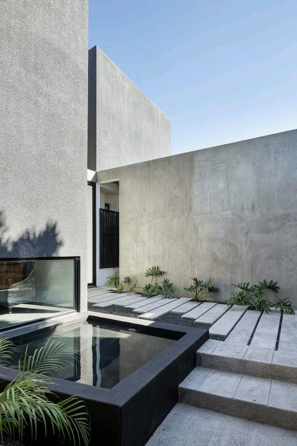 Giardino e piscina privata Villa Forte dei Marmi