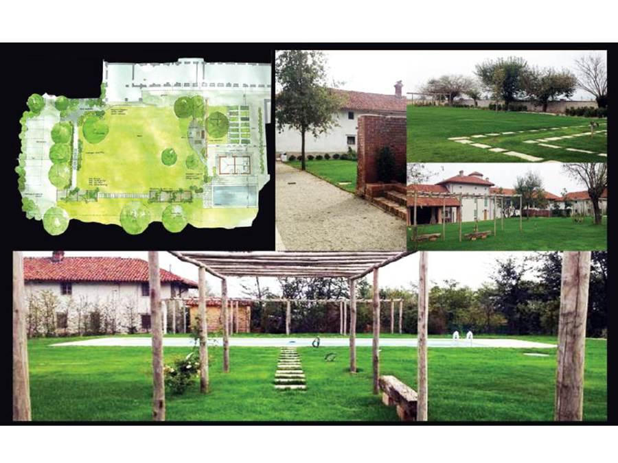 Progetto di creazione giardino in campagna progetti - Giardino di campagna ...