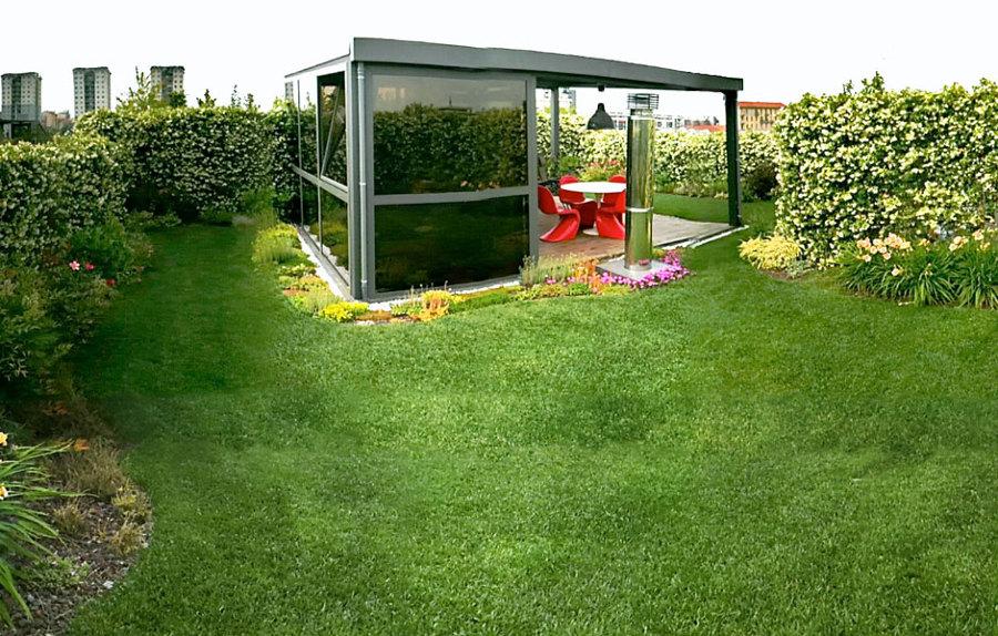 giardino in villetta