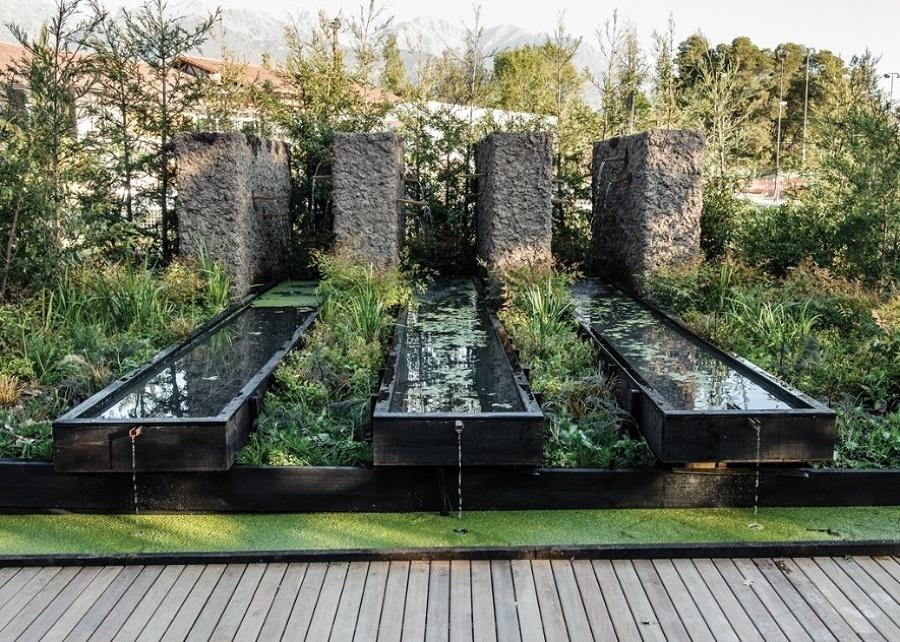 Foto giochi d 39 acqua in giardino di valeria del treste 311638 habitissimo - Giardino d acqua ...