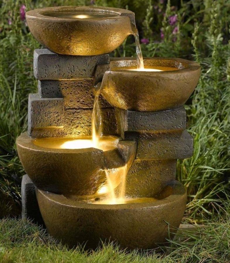 Foto giochi d 39 acqua in giardino di valeria del treste 311639 habitissimo - Giardino d acqua ...