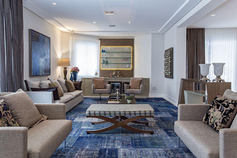 Grande tappeto patchwork