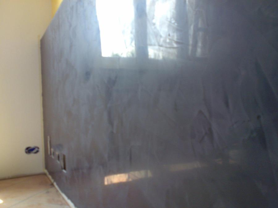 Libreria mobile cartongesso e finitura di pareti grassello for Grassello di calce spatolato
