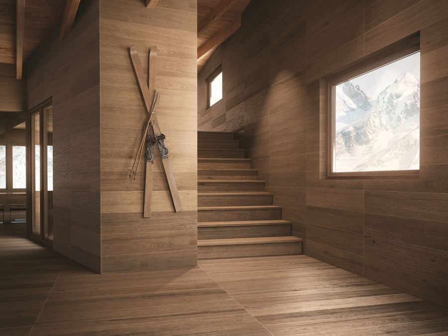 Foto gres porcellanato rivestimento pareti pavimenti di claudia loiacono 551866 habitissimo - Rivestimento pareti interne in legno ...