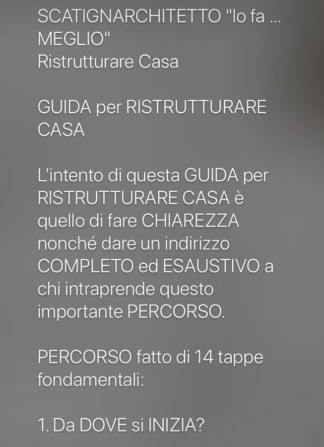 GUIDA per RISTRUTTURARE CASA