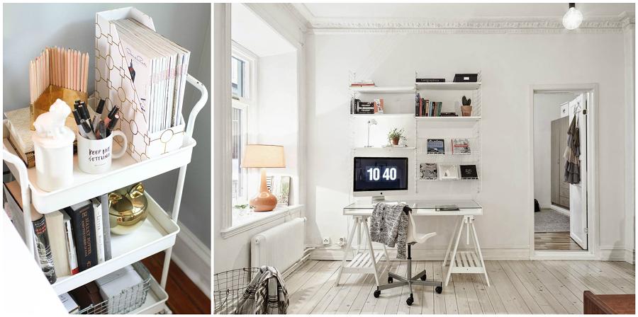 5 consigli per arredare uno spazio di lavoro in casa idee interior designer - Arredare studio in casa ...