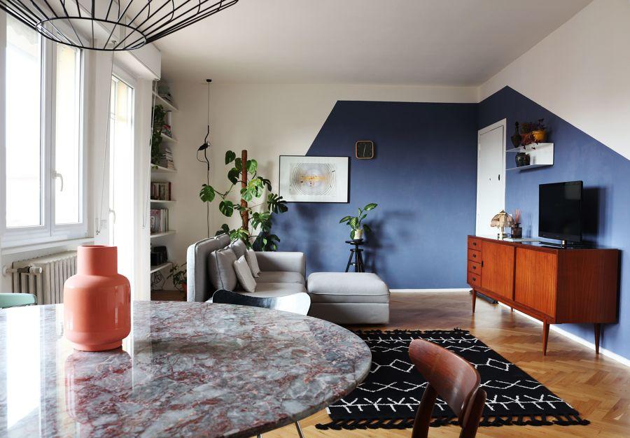 idee per dipingere il salotto