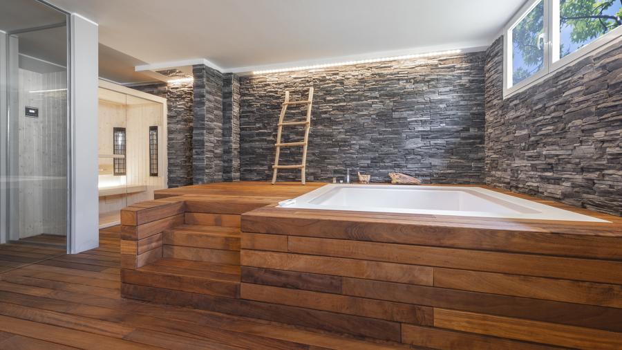 idromasaggio e sauna