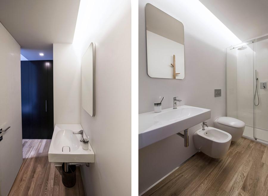 Progetto nero su bianco ristrutturazione di un - Progetto ristrutturazione bagno ...
