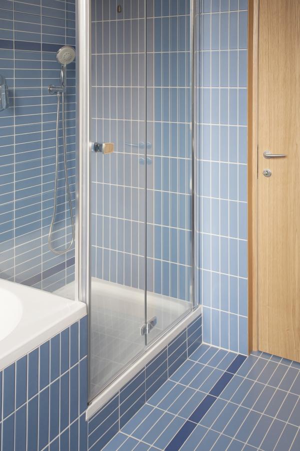 Il bagno blu