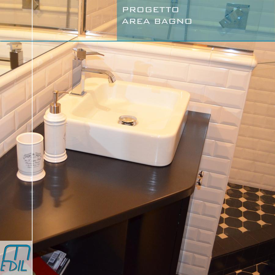 Progetto ristrutturazione appartamento in via cadore - Bagno di servizio ...