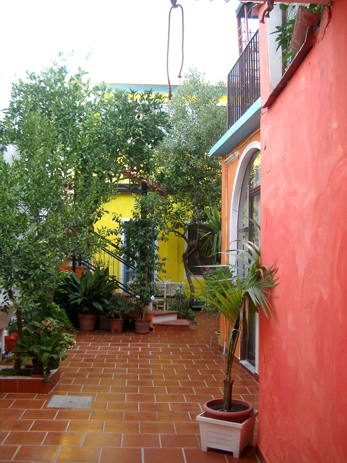il cortile interno