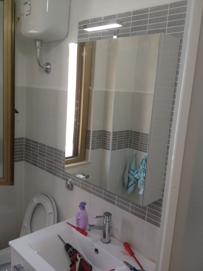 il nuovo bagno