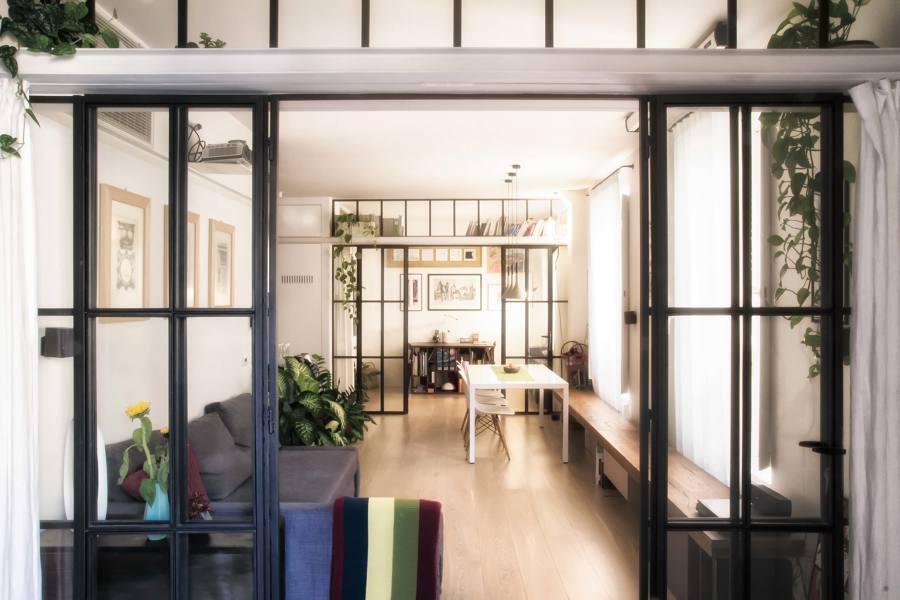 Il soggiorno e le camere
